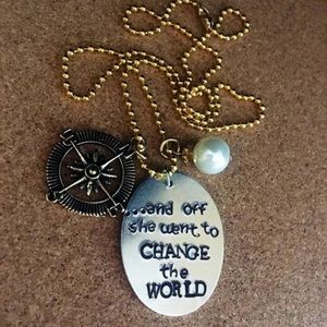 Necklace-perfect graduation gift made to order